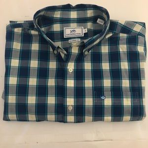 Southern Tide Classic Fit L/S Button Down Medium